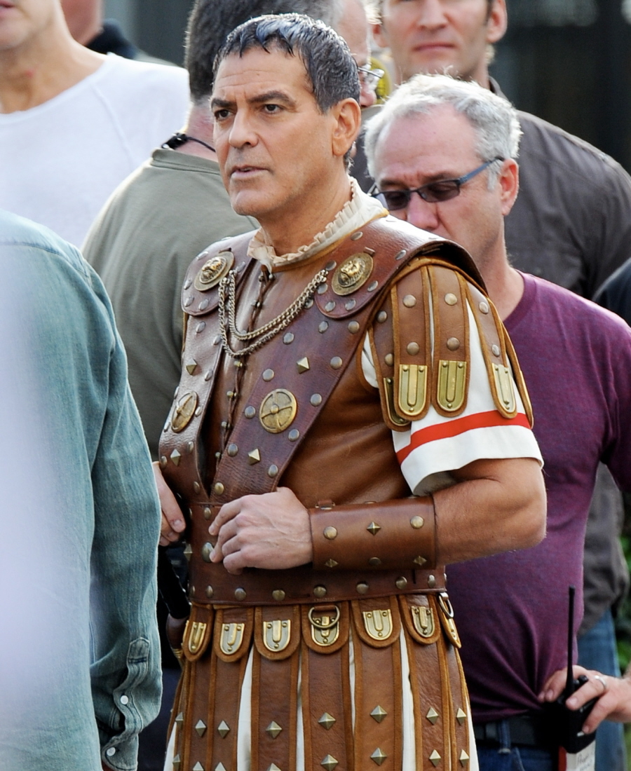 Image result for george clooney caesar