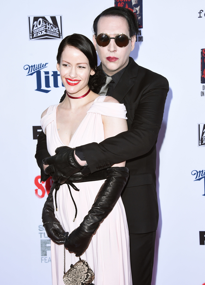Cele Bitchy Marilyn Manson Regularly Gives In To The