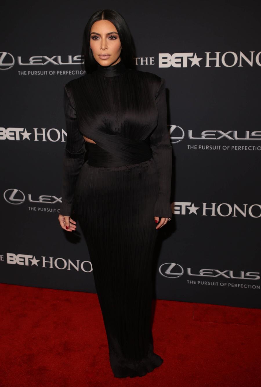 Dress black kim kardashian - Wenn22106780