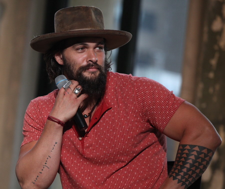 """""""Here's The First Look At Jason Momoa As"""
