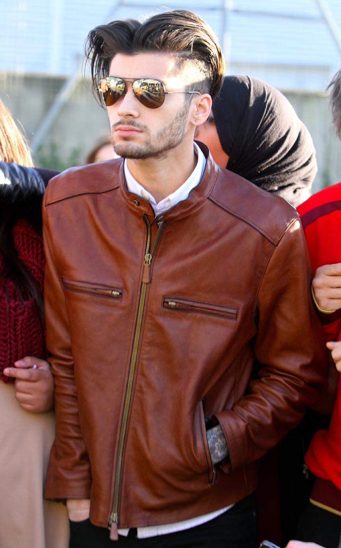 Leather jacket yahoo answers - Zayn Malik