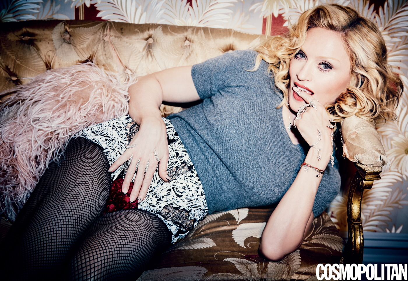 Cosmo May '15 Madonna 2