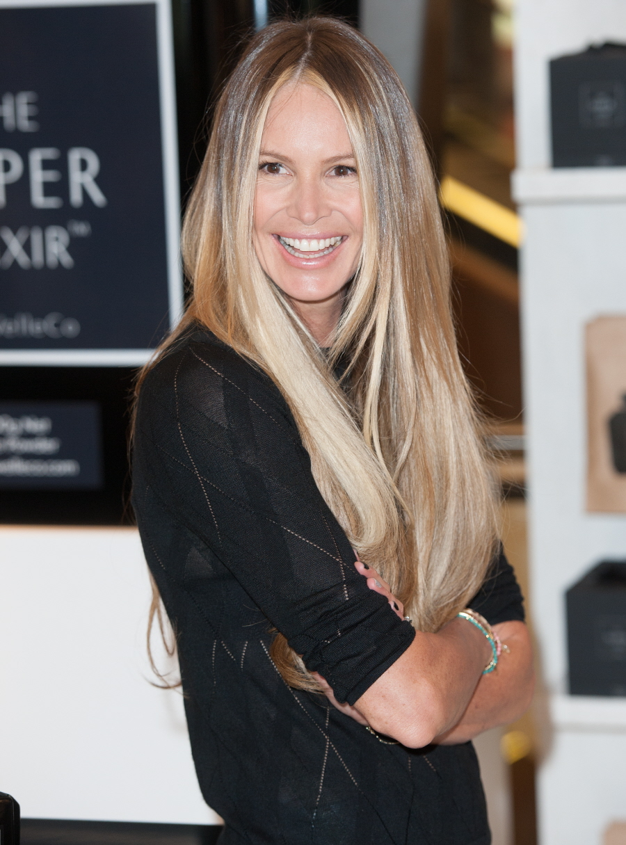 Cele bitchy elle macpherson keeps a ph balance urine tester kit in