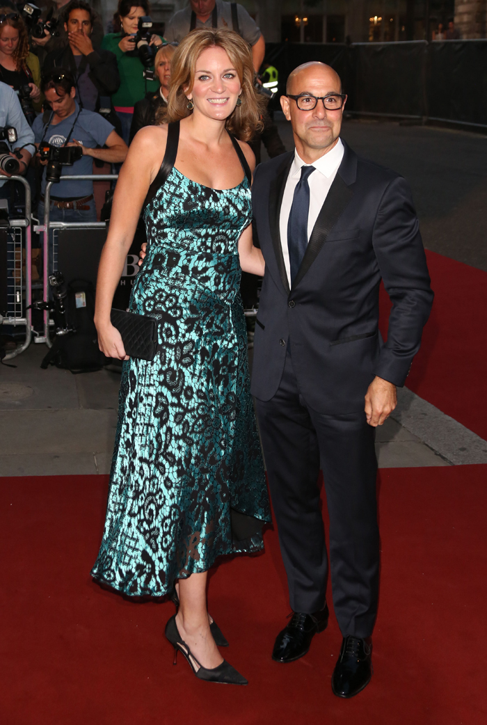 Cele|bitchy | Stanley Tucci on remarrying after his first wife's ... Kate Tucci Children