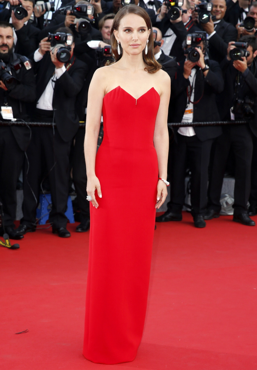 cele bitchy natalie portman in dior for the cannes opening night boring basic or beautiful. Black Bedroom Furniture Sets. Home Design Ideas