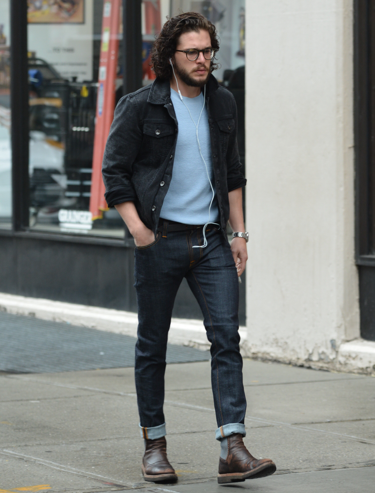 Beautiful  Jeans And Chelsea Boots For New York Lunch Date  Daily Mail Online