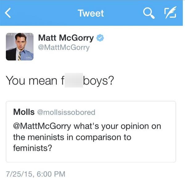 Twitter dating a feminist