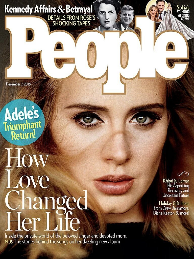 adele magazine covers mag bach kennedy hello barbara rose starr inside joe magazines celebrity ringo discountmags december subscription marriage ever