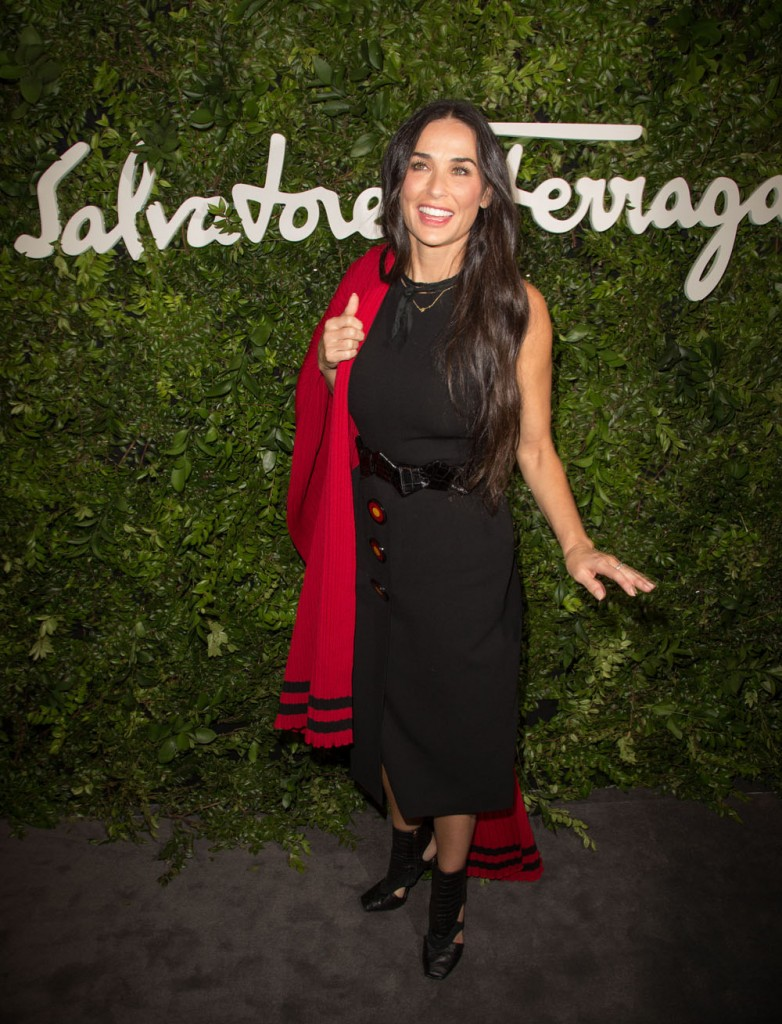 Salvatore Ferragamo 100th Year Celebration In Hollywood Rodeo Drive Flagship Store Opening