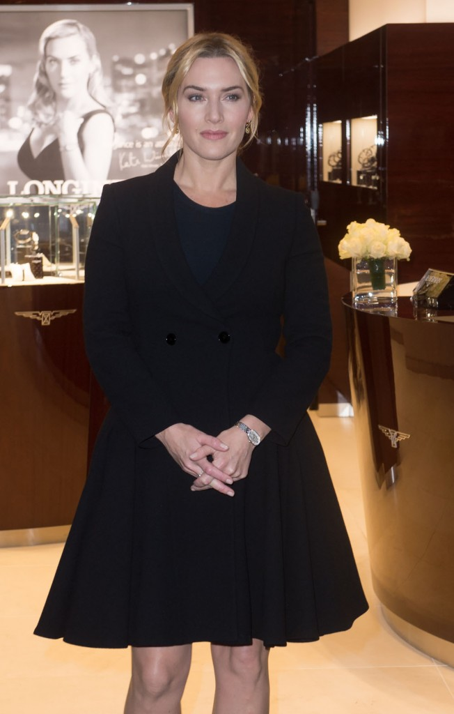 Kate Winslet Attends the Longines Boutique Opening