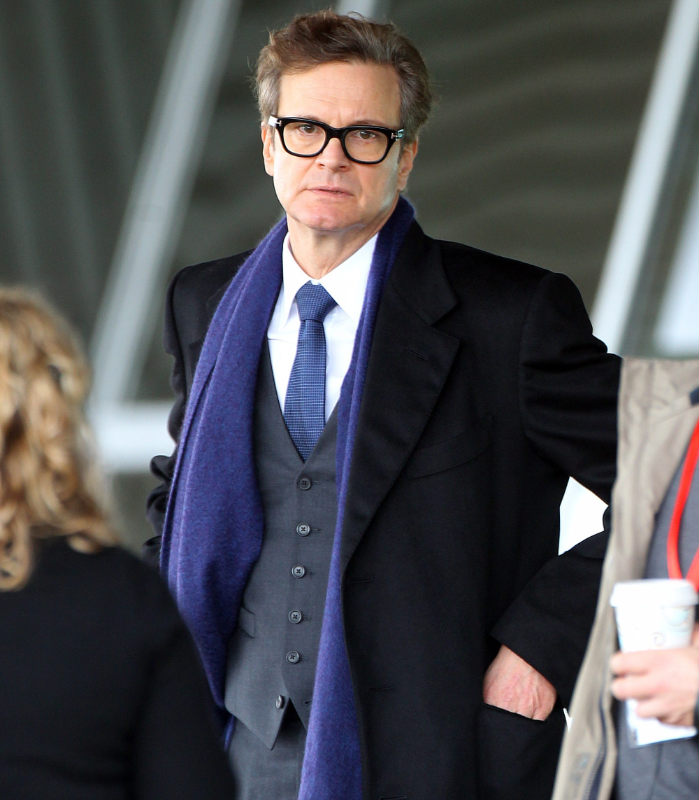 Colin Firth Silly Glasses