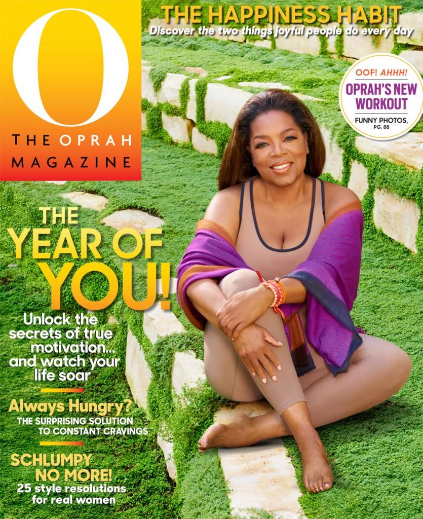O Mag January Cover