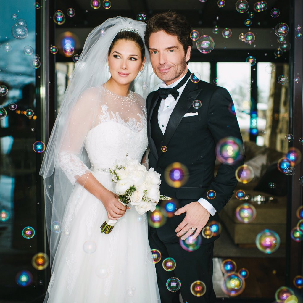 Richard marx 52 and daisy fuentes 49 got married in aspen over the