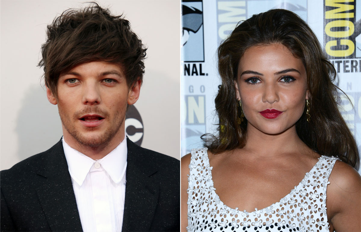 Cele|bitchy | Louis Tomlinson of 1D broke up with his pregnant gf, is dating an actress