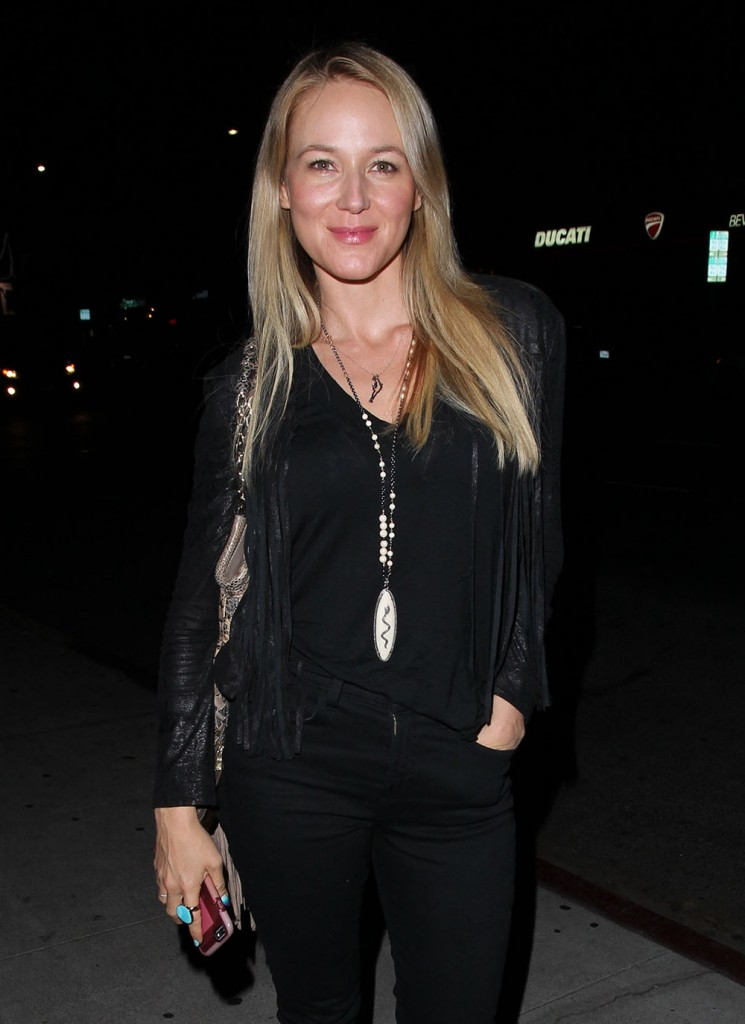 Celebrities On A Night Out At The Nice Guy Restaurant