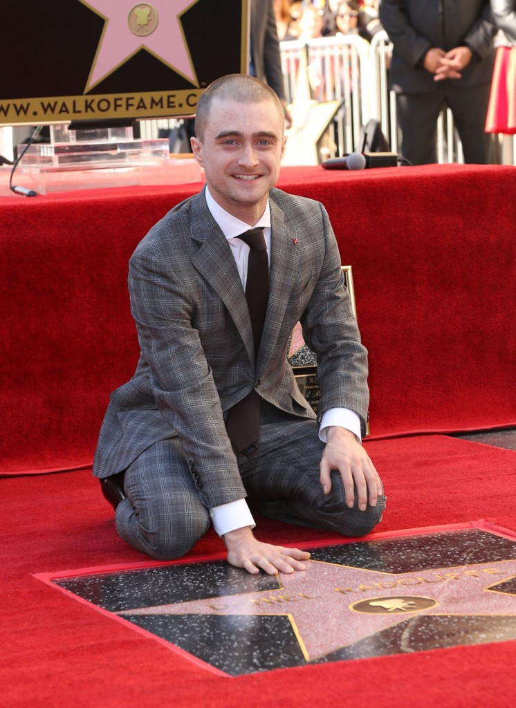 Daniel Radcliffe honored with star on the Hollywood Walk Of Fame