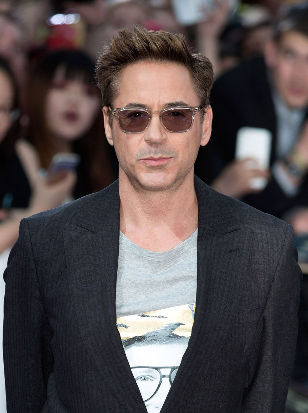 Cele|bitchy | Robert Downey Jr. helps make a boy's ... Robert Downey