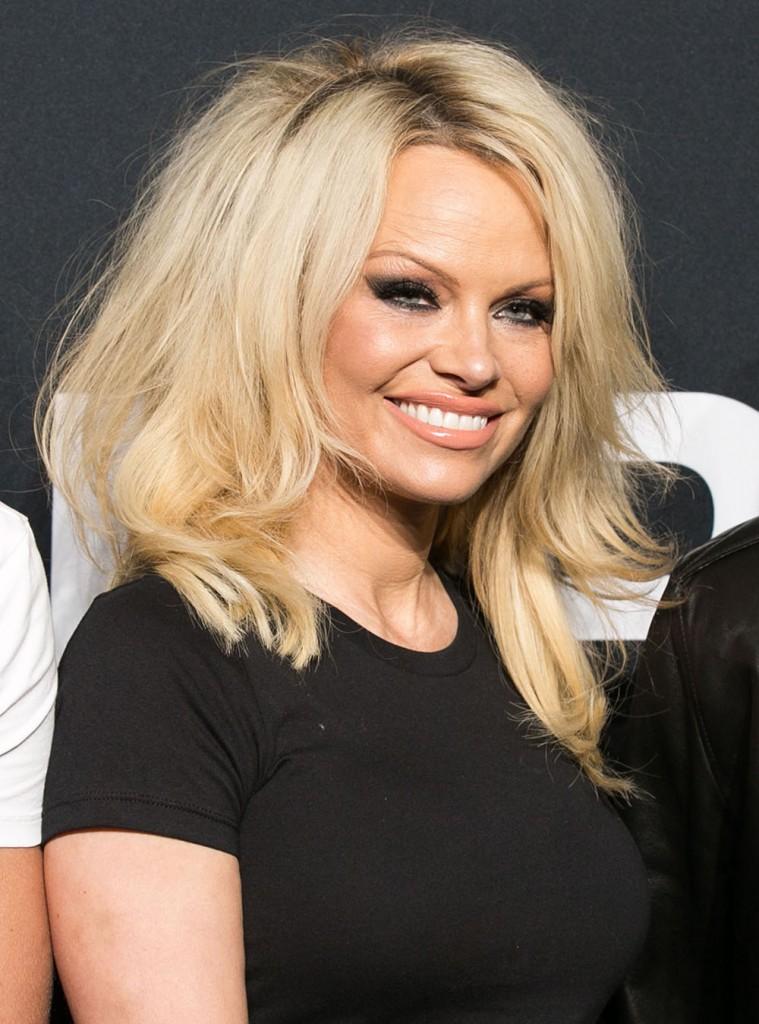 Cele|bitchy | Pamela Anderson launches new makeup line ... Pamela Anderson