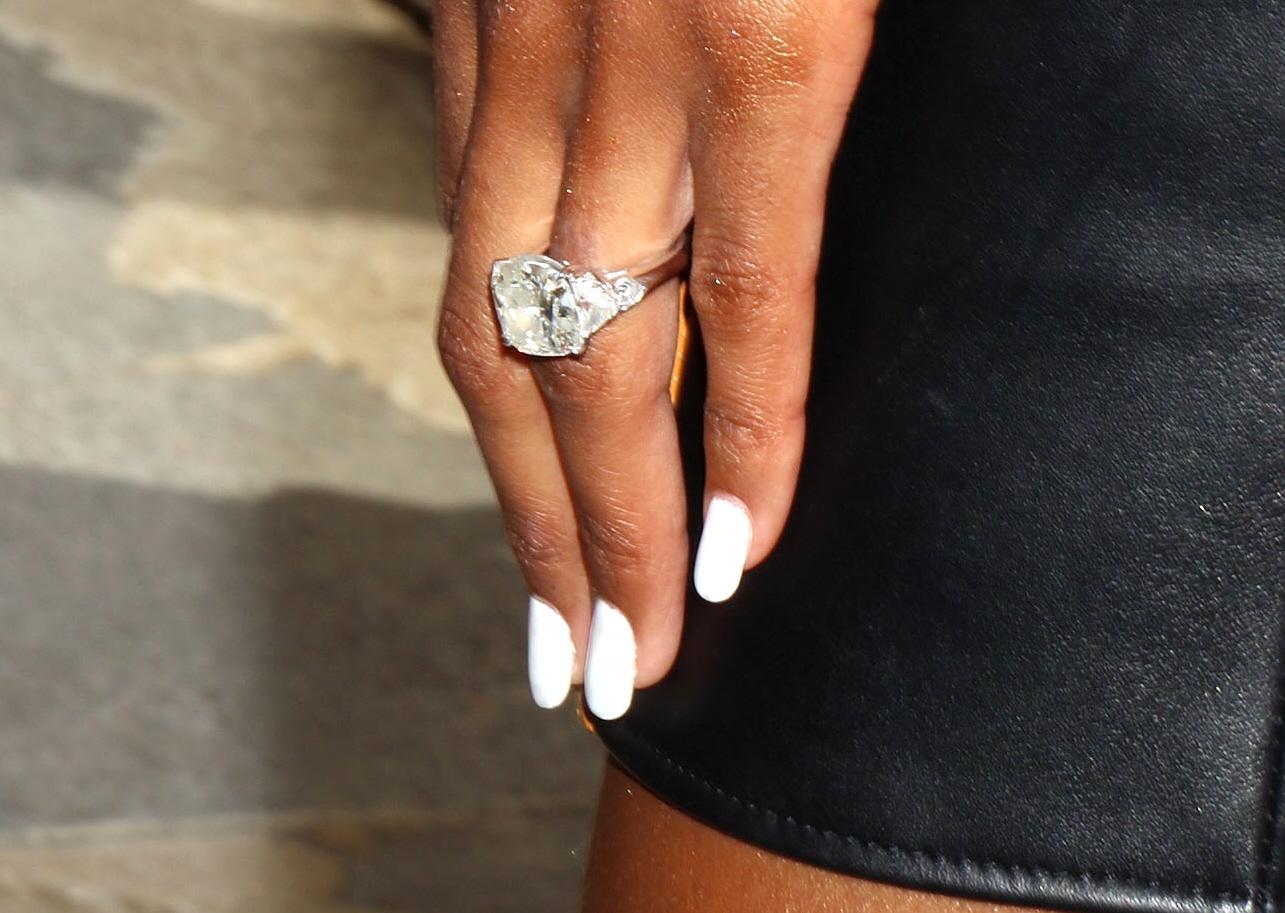 cele bitchy ciara shows 16 carat engagement ring