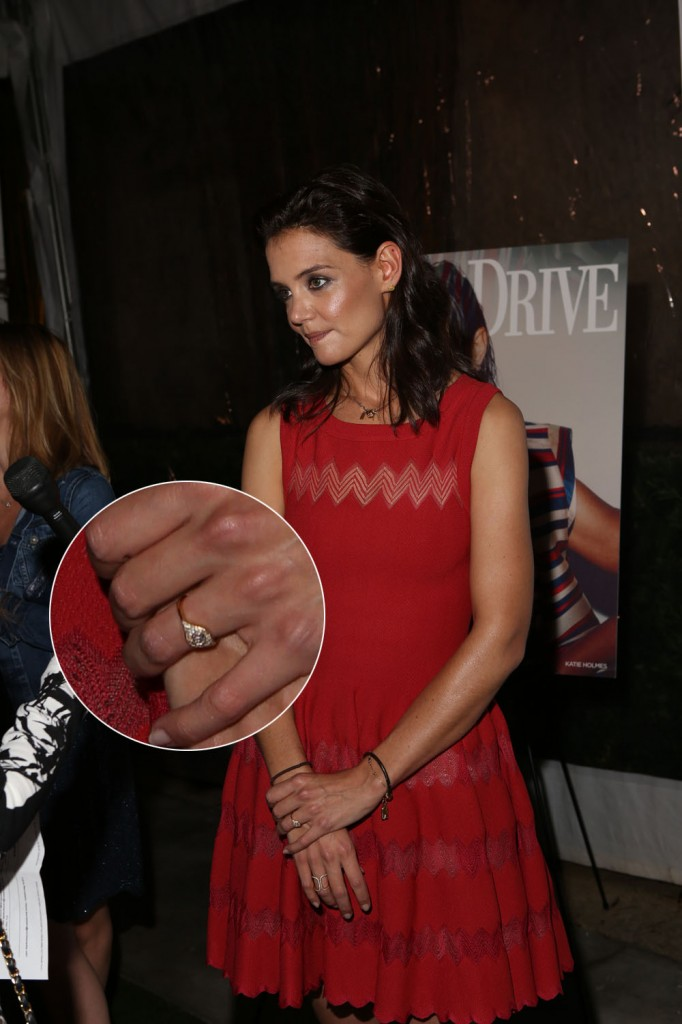 Katie Holmes hosts Ocean Drive Magazine's Art of the Party during Art Basel Miami Beach
