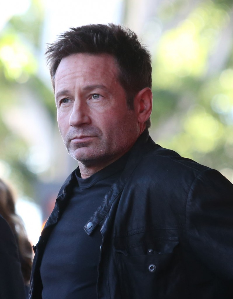 David Duchovny Honored With Star On The Hollywood Walk Of Fame