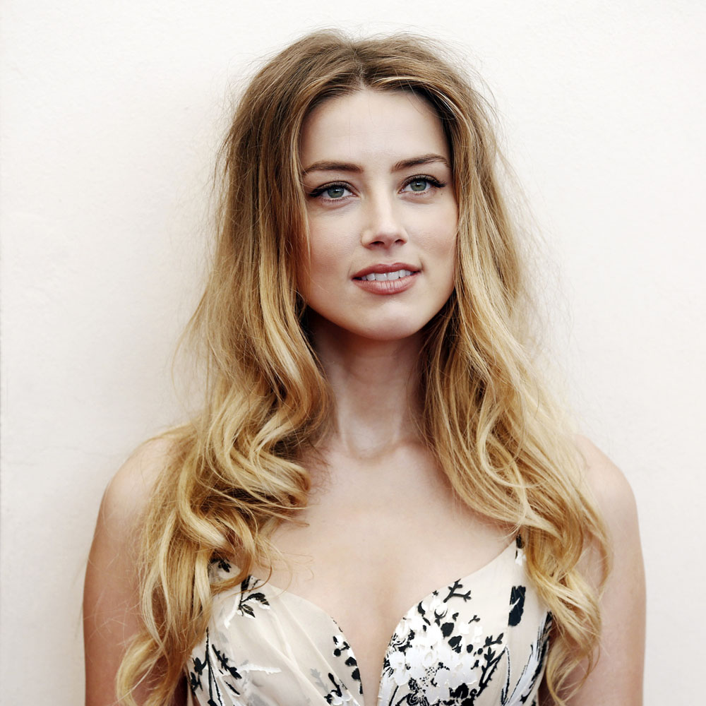 Amber Heard at the photocall for 'The Danish Girl' during the 72nd Venice Film Festival