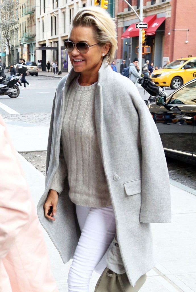 Gigi Hadid Steps Out In NYC With Her Mother Yolanda Foster
