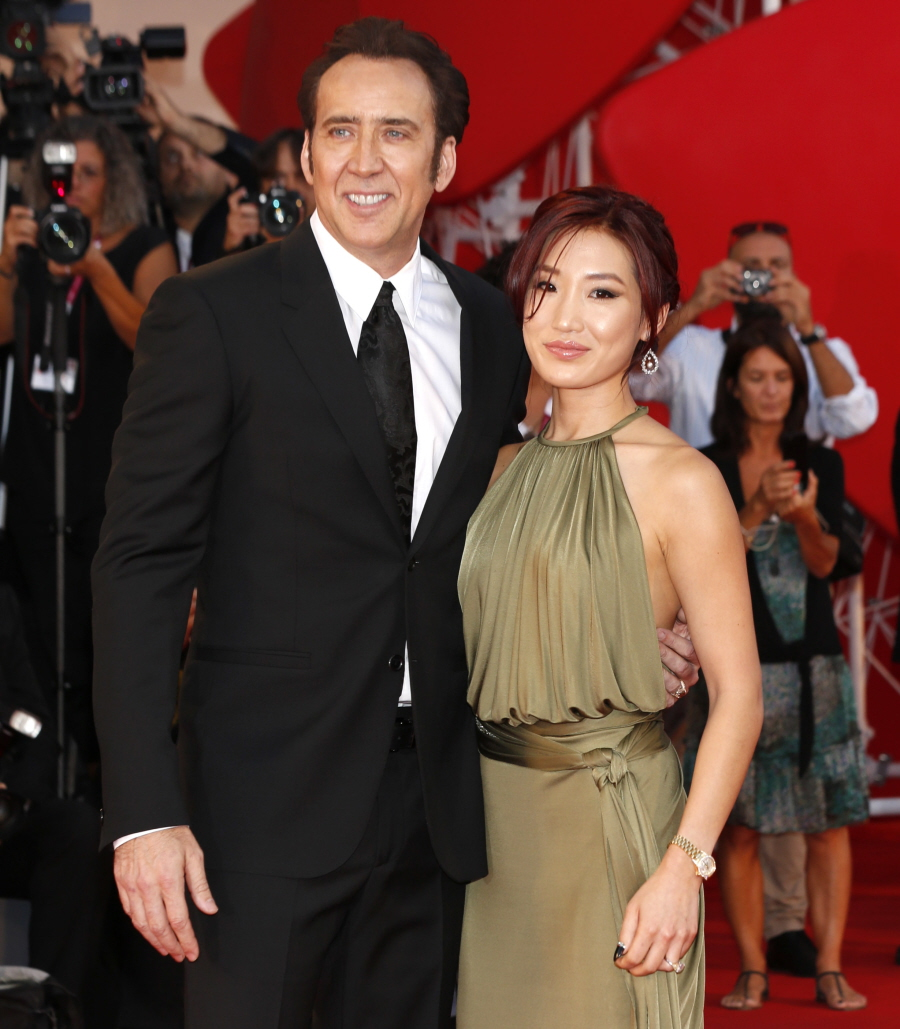 Cele bitchy   Did Nicolas Cage & Alice Kim split up ...
