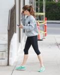 Jennifer Garner Hits The Gym