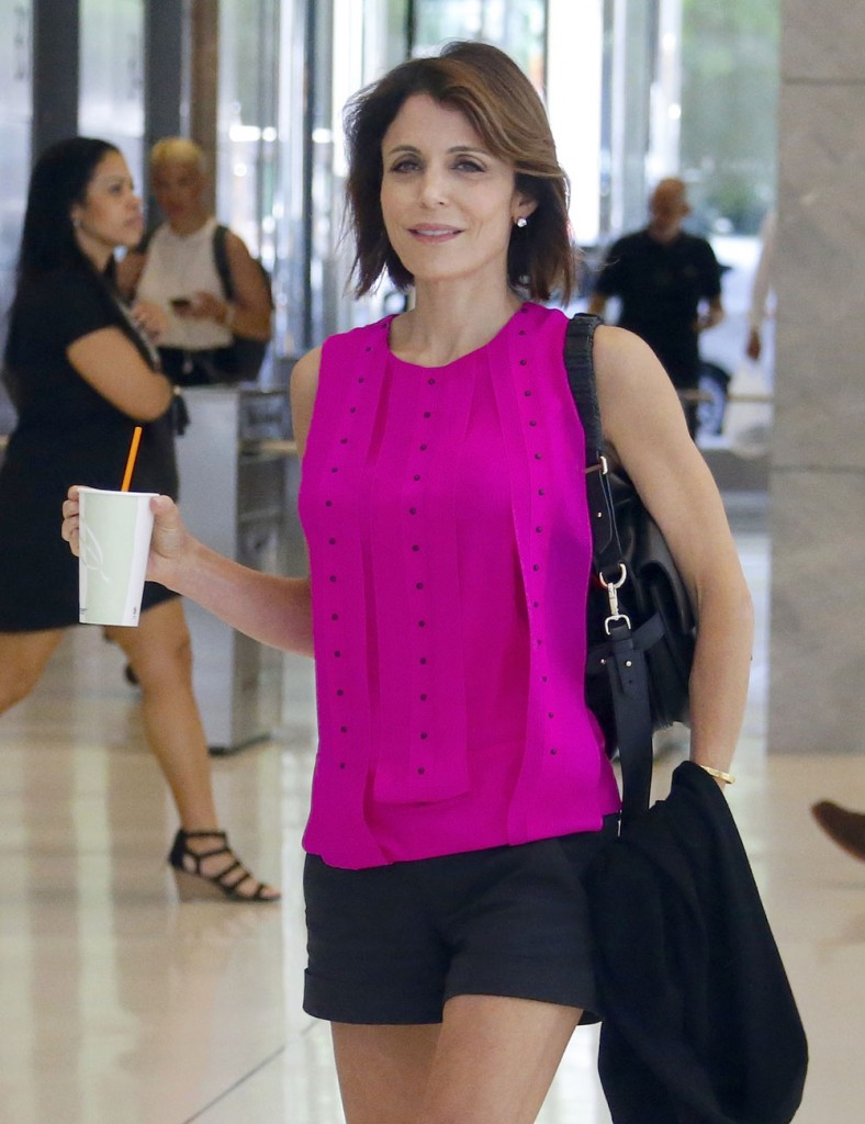 Bethenny Frankel Out And About In NYC