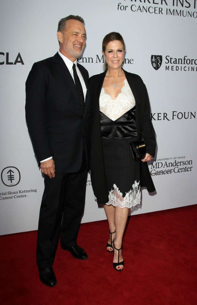 Tom attending the Cancer hospital event with his wife