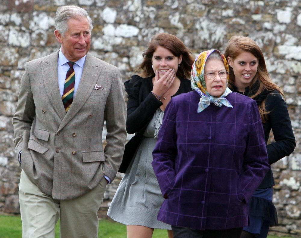 Prince Andrew & Prince Charles are still fighting over the York princesses