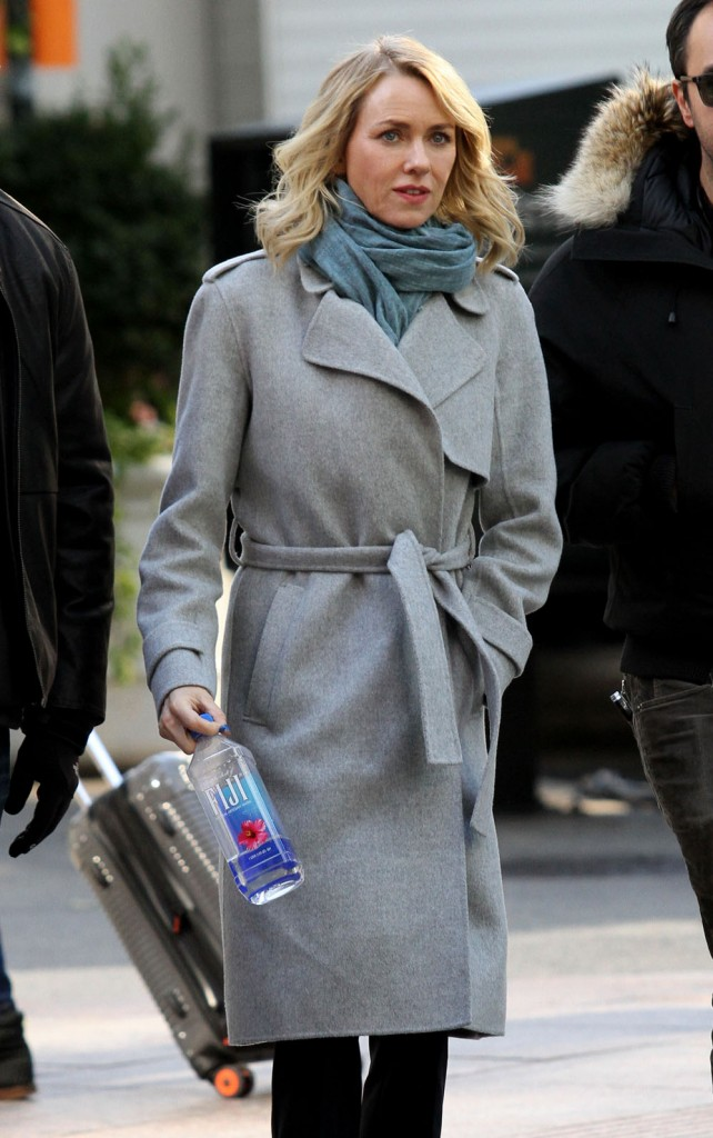 Stars On The Set Of 'Gypsy' In NYC