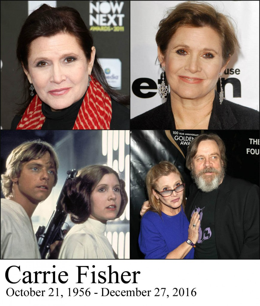 Carrie Fisher Is Dead at 60