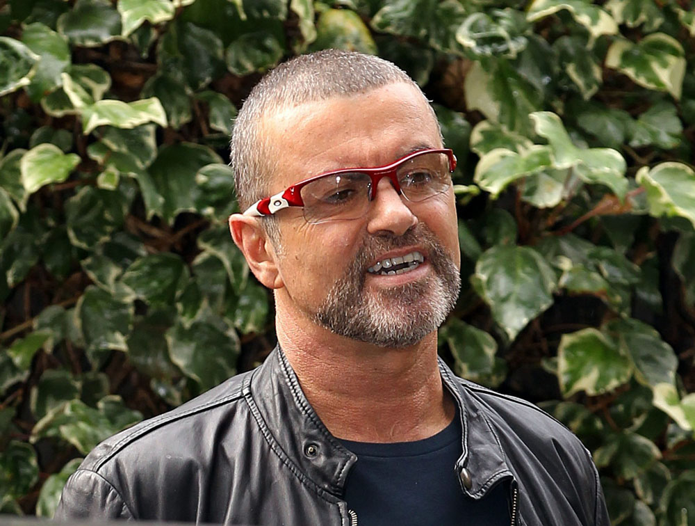 George Michael Is A Little Anxious These Days