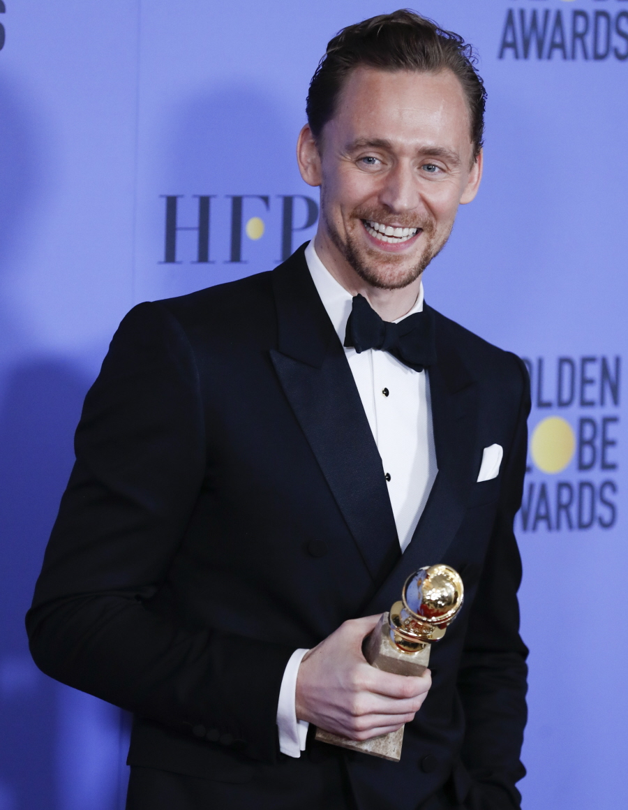 FFN_CHP_Golden_Globes_Press_Room_010817_52277637  bitchy | Does Tom Hiddleston want an entire profession makeover after his Globes debacle? FFN CHP Golden Globes Press Room 010817 52277637