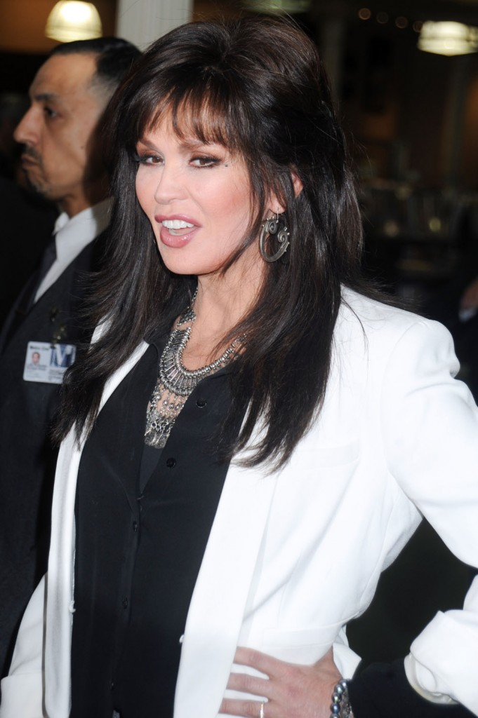 Marie Osmond Holds A CD Signing For 'Music is Medicine' In NYC  bitchy | Marie Osmond needs to play Trump's inauguration however they haven't requested (replace) FFN COHEN OSMOND M 4142016 52024585 edited 1