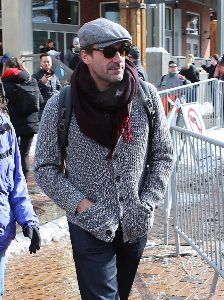 Celebrities Out And About At The 2017 Sundance Film Festival  bitchy | Jon Hamm doesn't watch outdated Mad Males episodes: 'it's at all times bizarre' FFN Celebs Utah CHaos 012317 52290949