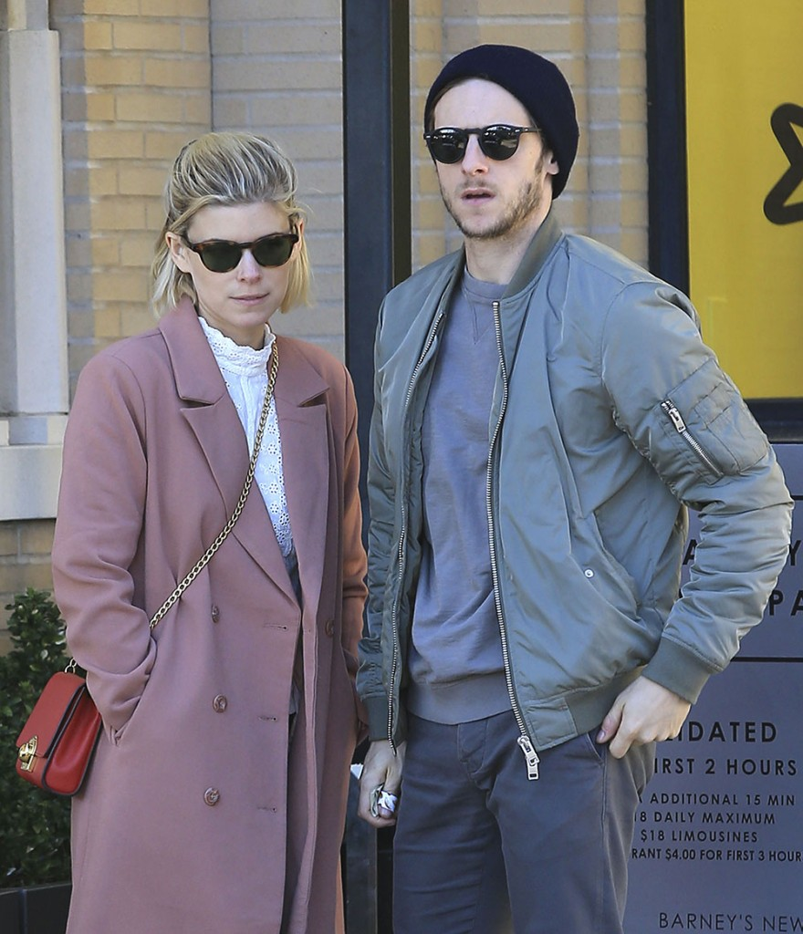 Kate Mara And Jamie Bell Shop At Barneys New York In Beverly Hills