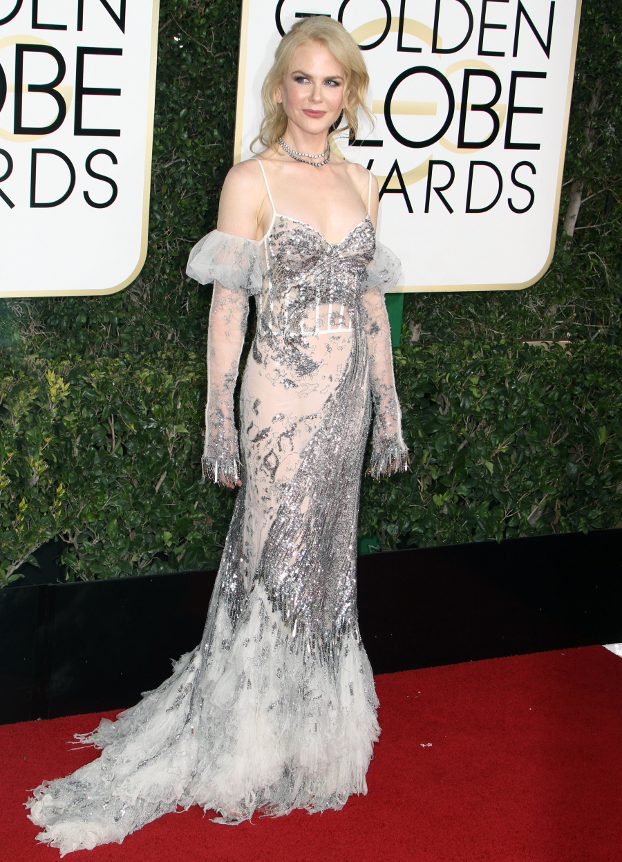FFN_RIJ_GOLDEN_GLOBES_SET3_010817_52276687  bitchy   Nicole Kidman in McQueen: one of many worst seems of the Golden Globes? FFN RIJ GOLDEN GLOBES SET3 010817 52276687