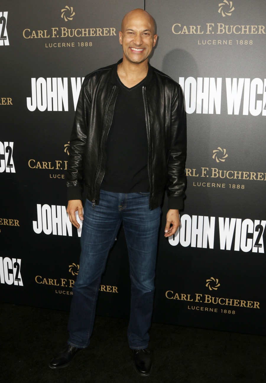 Keanu Reeves and Laurence Fishburne at John Wick: Chapter2 Premiere in Hollywood  bitchy | Keanu Reeves on the 'John Wick 2′ premiere: ageless or fastidiously worn? FFN RIJ JOHN WICK 013017 52299940