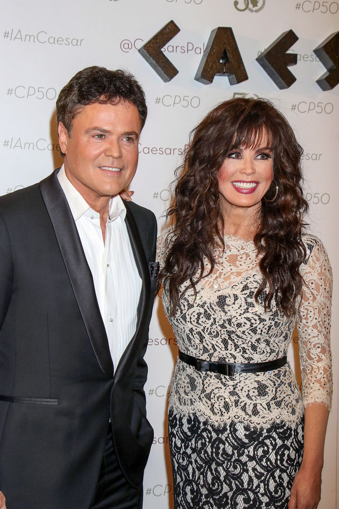 Caesars Palace Las Vegas 50th Anniversary Gala - Arrivals  bitchy | Marie Osmond needs to play Trump's inauguration however they haven't requested (replace) PRN 122000 edited 1