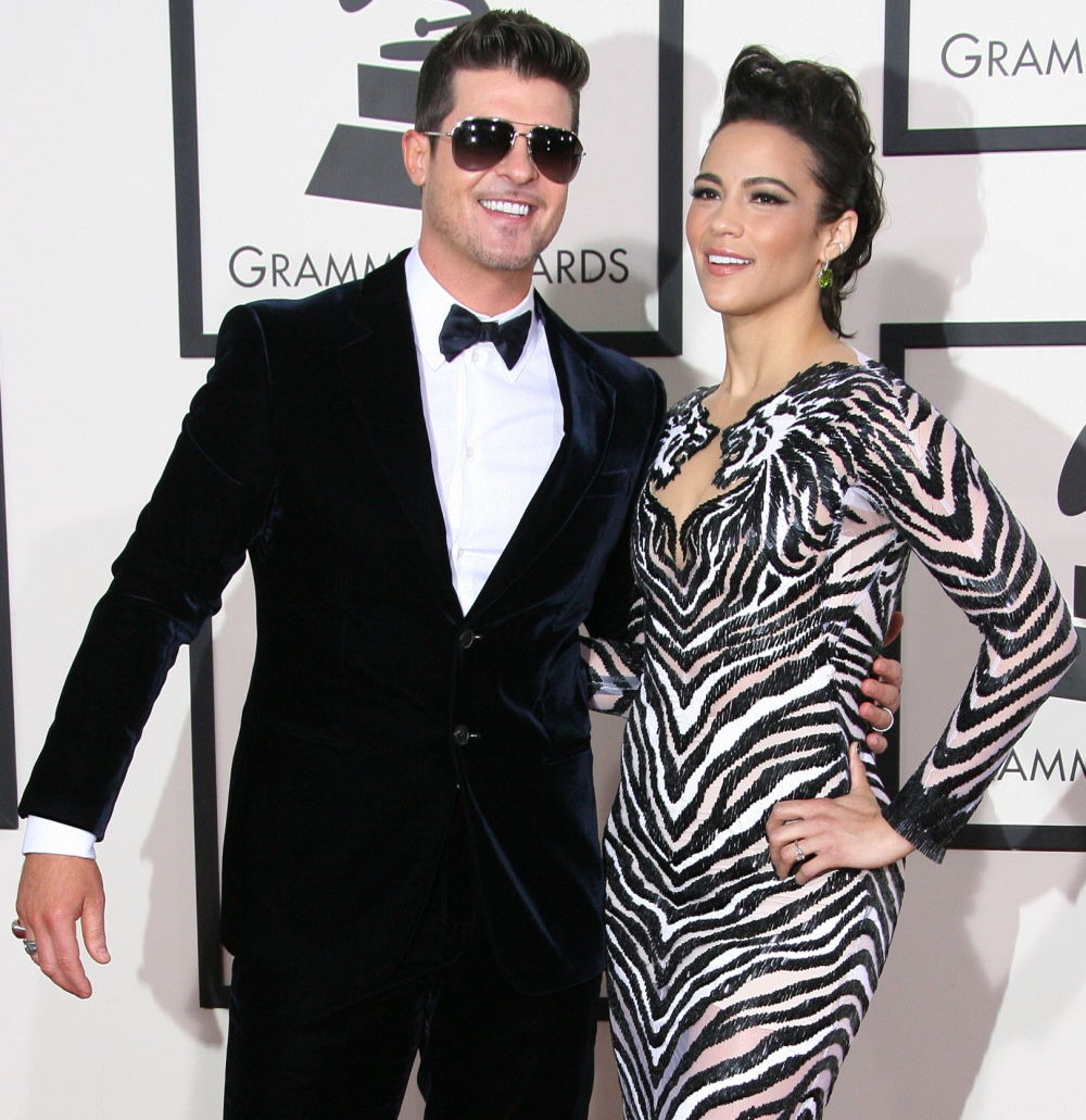 wenn21028138  bitchy | Robin Thicke & Paula Patton are 'embroiled in a nasty custody combat' wenn21028138