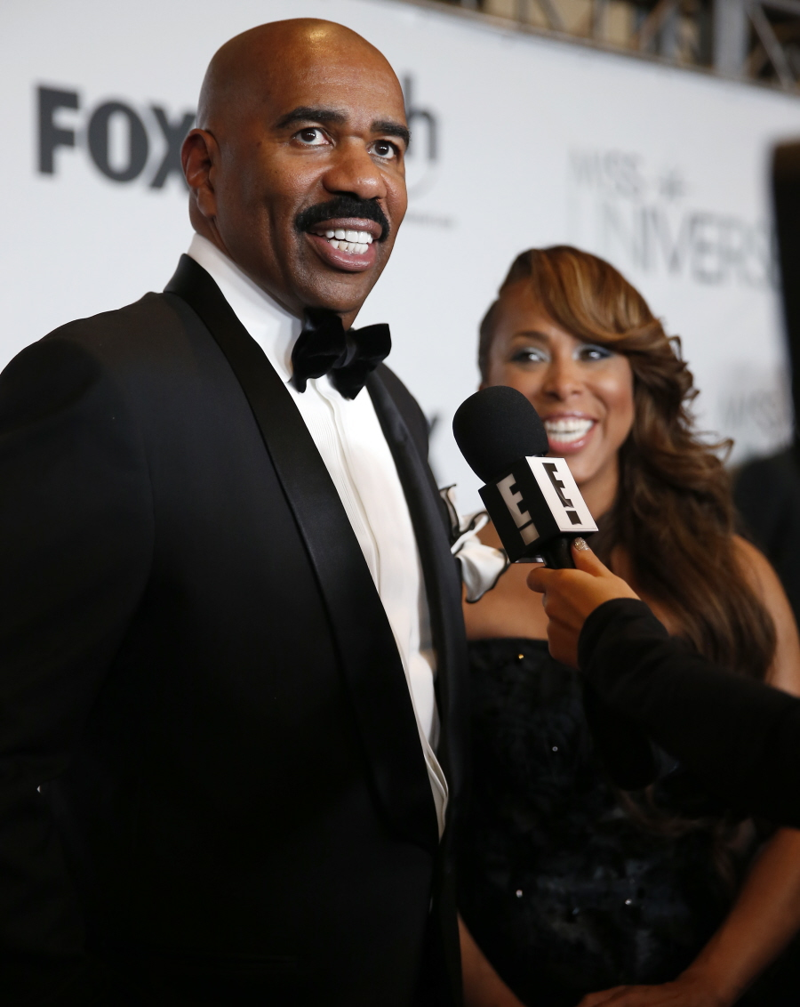 wenn23303562  bitchy | Steve Harvey beneath fireplace for mocking the attractiveness of Asian males wenn23303562