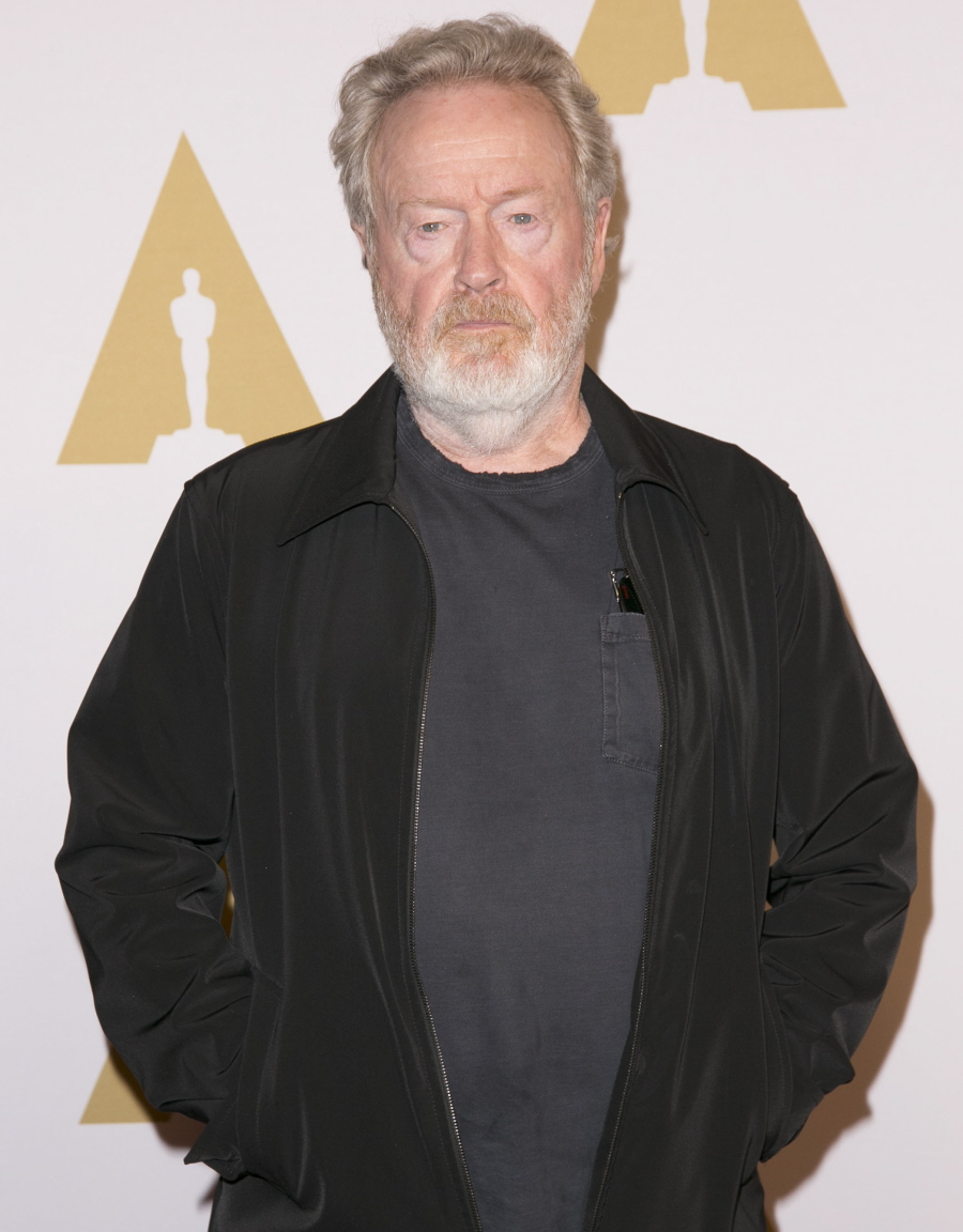 wenn23466749  bitchy | Ridley Scott is a judgy hipster: 'Superhero films should not my type of factor' wenn23466749