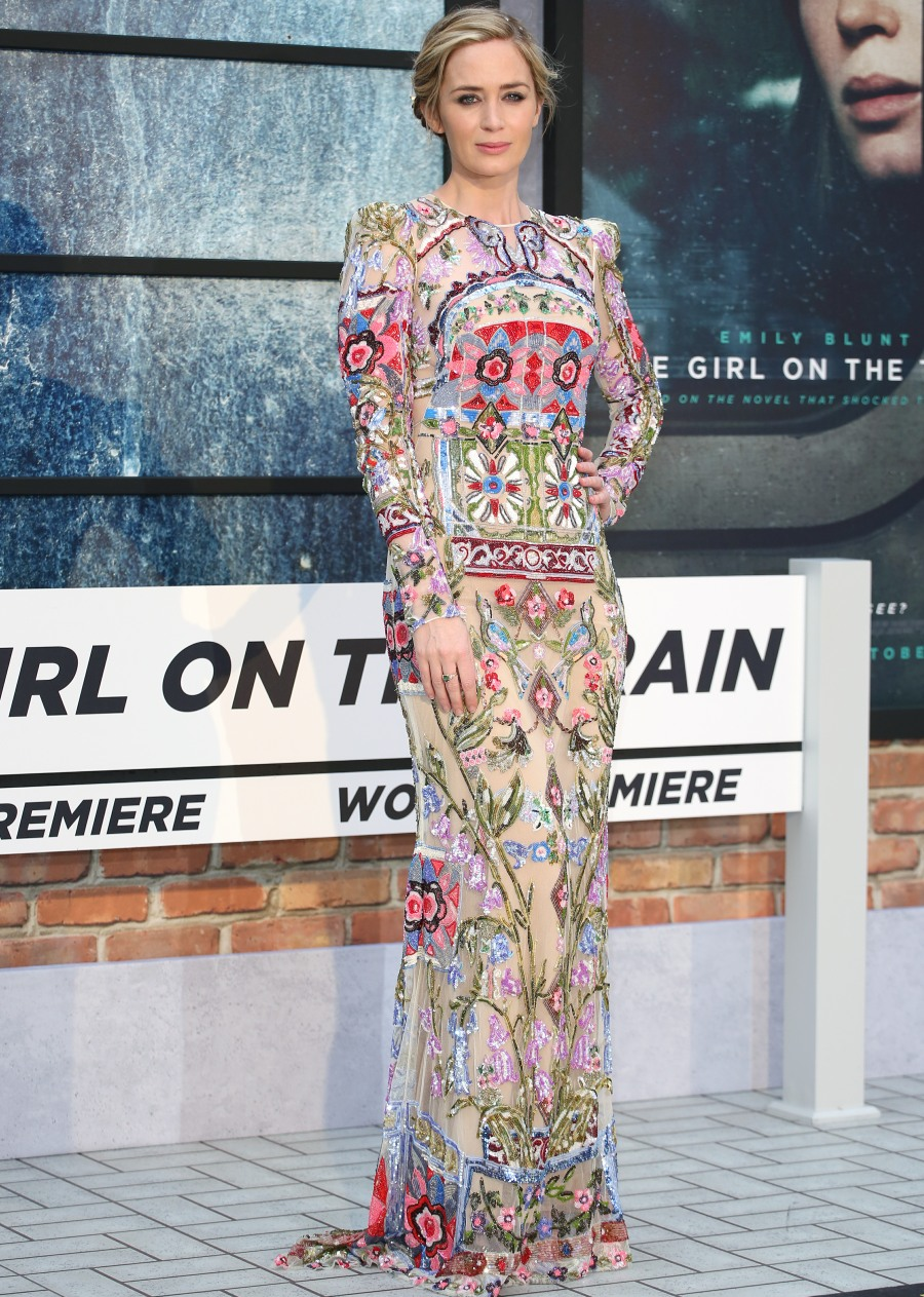 The Girl on the Train  bitchy | 2017 SAG Awards Open Publish: Hosted by Emily Blunt's bizarre surge wenn29562592