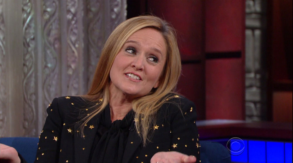 wenn29625113  bitchy | Samantha Bee solely eats darkish chocolate: 'Don't come close to me with milk chocolate' wenn29625113