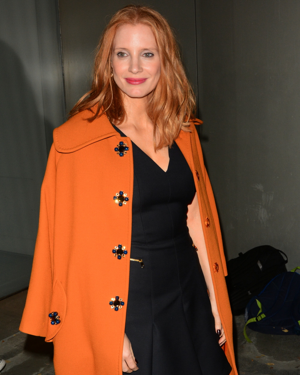 wenn30555668  bitchy | Jessica Chastain tweeted about contraception & a dude instructed 'abstinence' wenn30555668