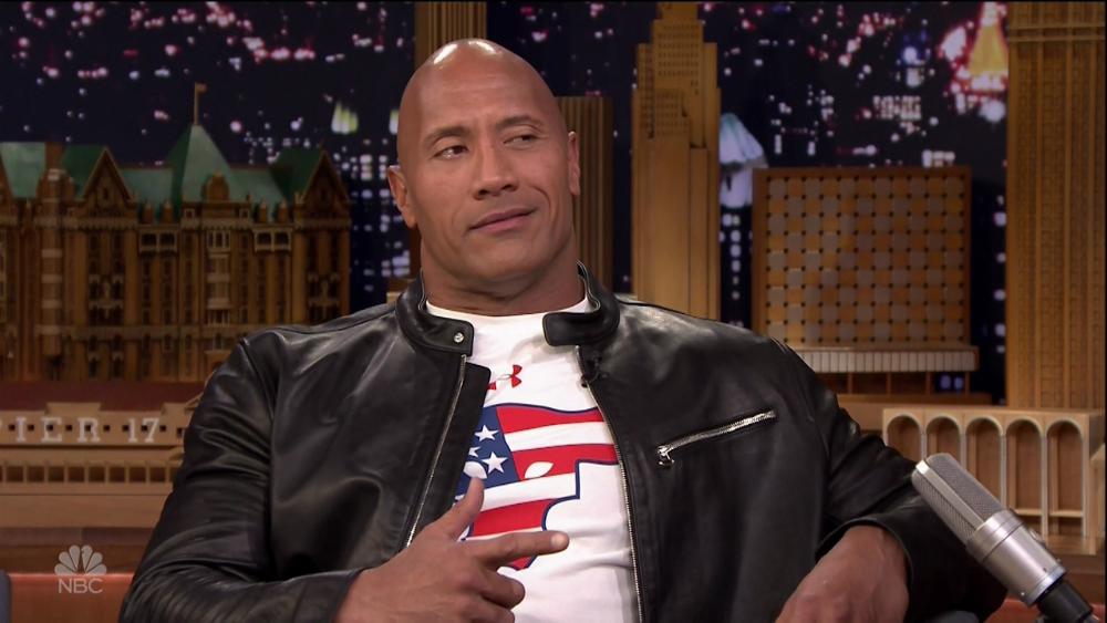 wenn30599408  bitchy | Dwayne 'The Rock' Johnson stunned an Military vet with a brand new automotive wenn30599408