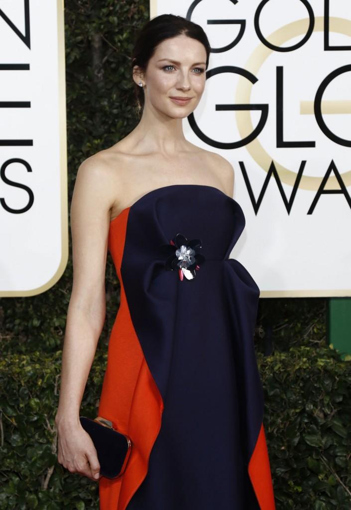 wenn30702556  bitchy | Drew Barrymore in Monique Lhullier on the Golden Globes: avian fab or fug? wenn30702556